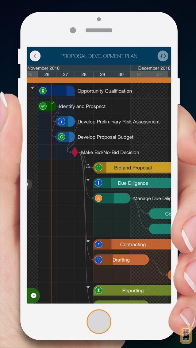 Screenshot - QuickPlan - Project Gantt Plan
