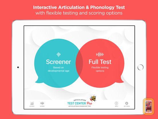 Screenshot - Articulation Test Center Pro