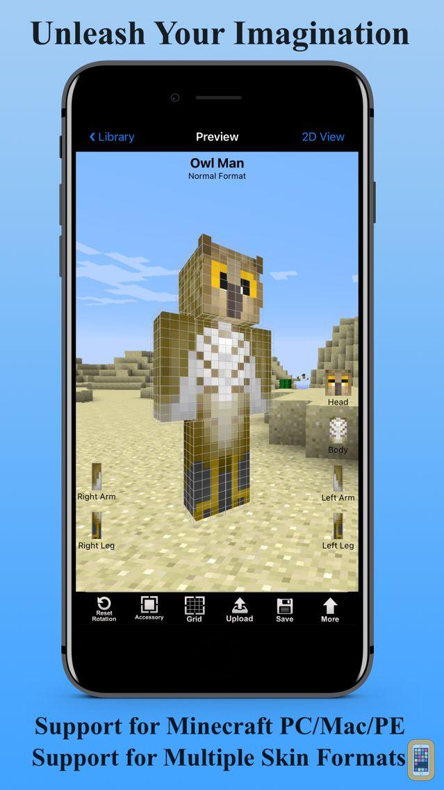 Screenshot - Skin Creator 3D for Minecraft