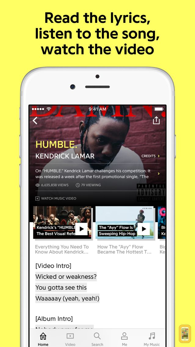 Screenshot - Genius: Song Lyrics & More