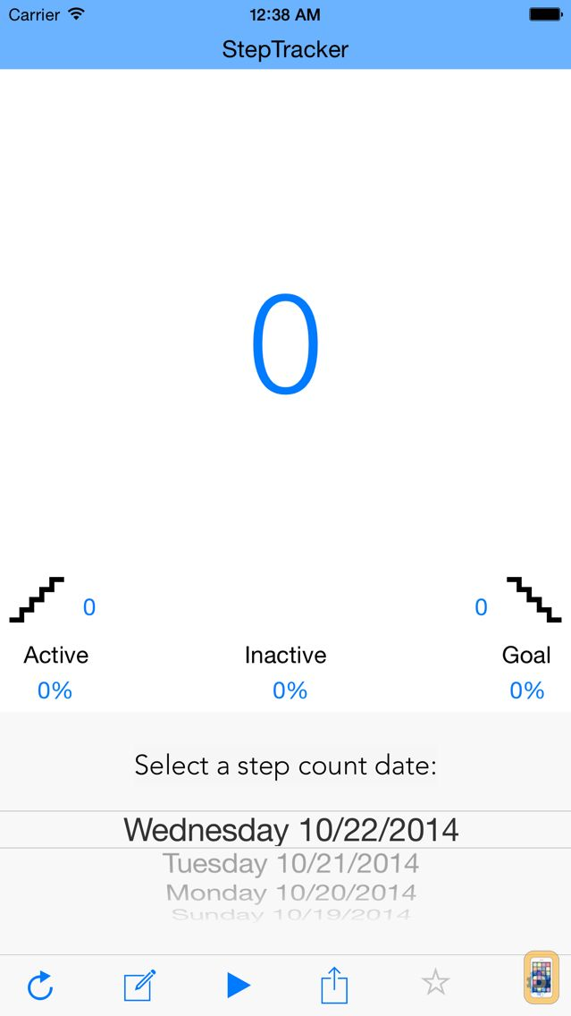 Screenshot - StepTracker: An M7 Fitness Pedometer