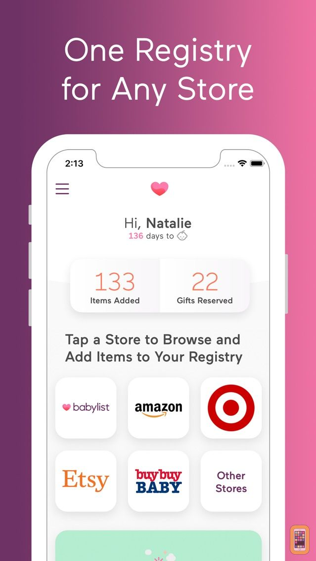 Screenshot - Babylist Baby Registry