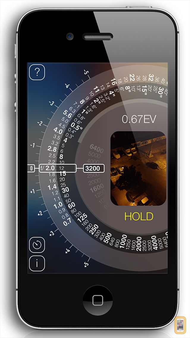 Screenshot - Light meter wheel