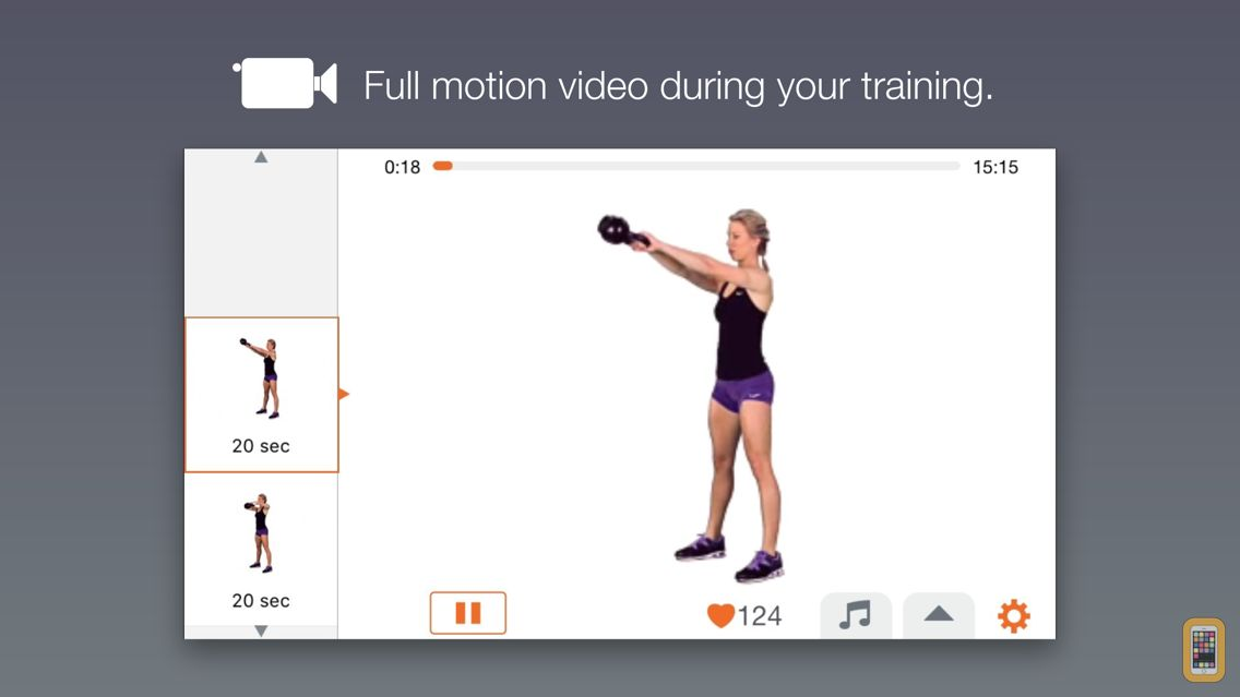 Screenshot - Kettlebell Tabata Trainer
