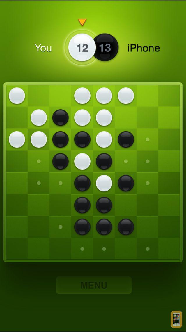 Screenshot - Fresh Reversi – Othello Like Strategy and Logic Board Game