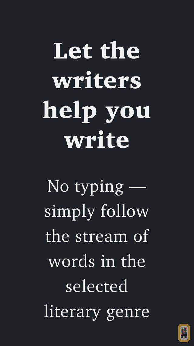 Screenshot - Creative Writer - Fun! Easy! Write! - Ideas for Writing and Texting - Flow of Words, Poetry and Lyrics