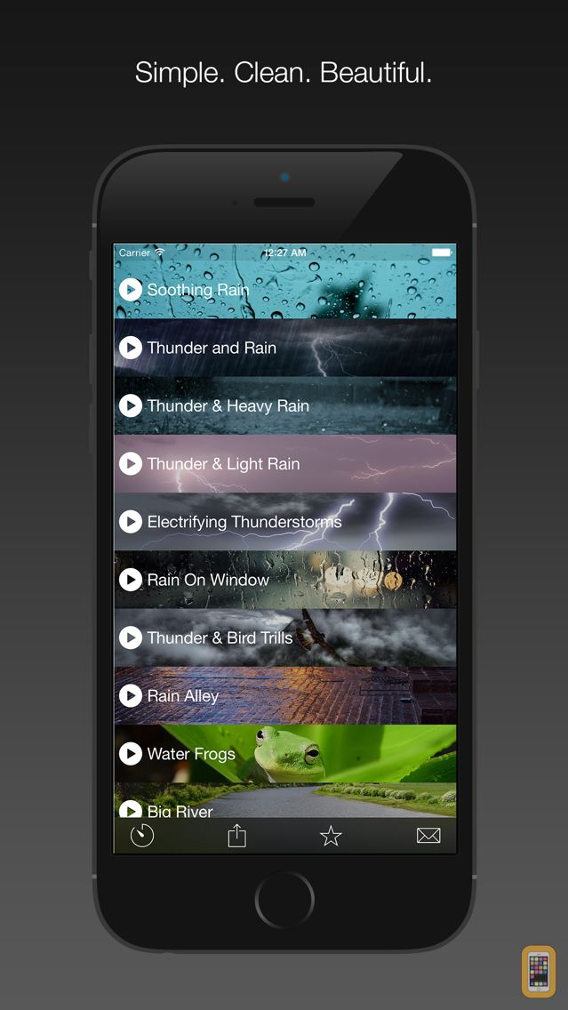 Screenshot - Nature Melody — Soothing, Calming, and Relaxing Sounds to Relieve Stress and Help Sleep Better (Free)