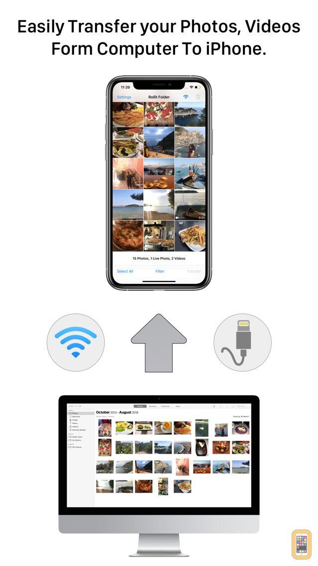 Screenshot - Rollit - Photo Transfer App