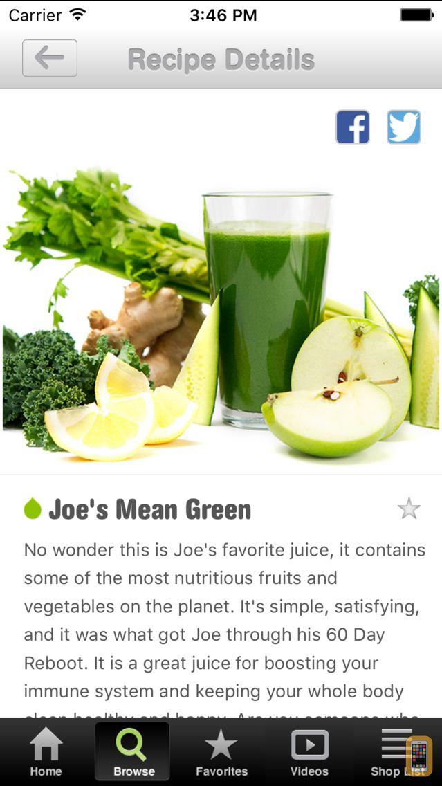 Screenshot - 101 Juice Recipes