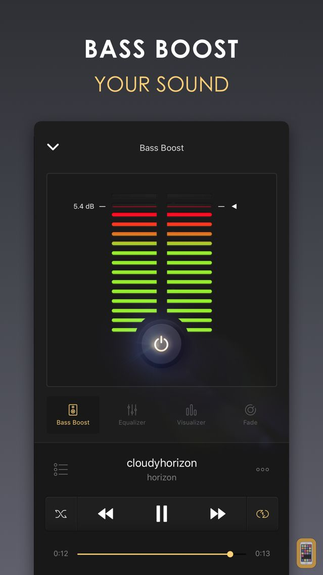 Screenshot - Equalizer+ HD music player