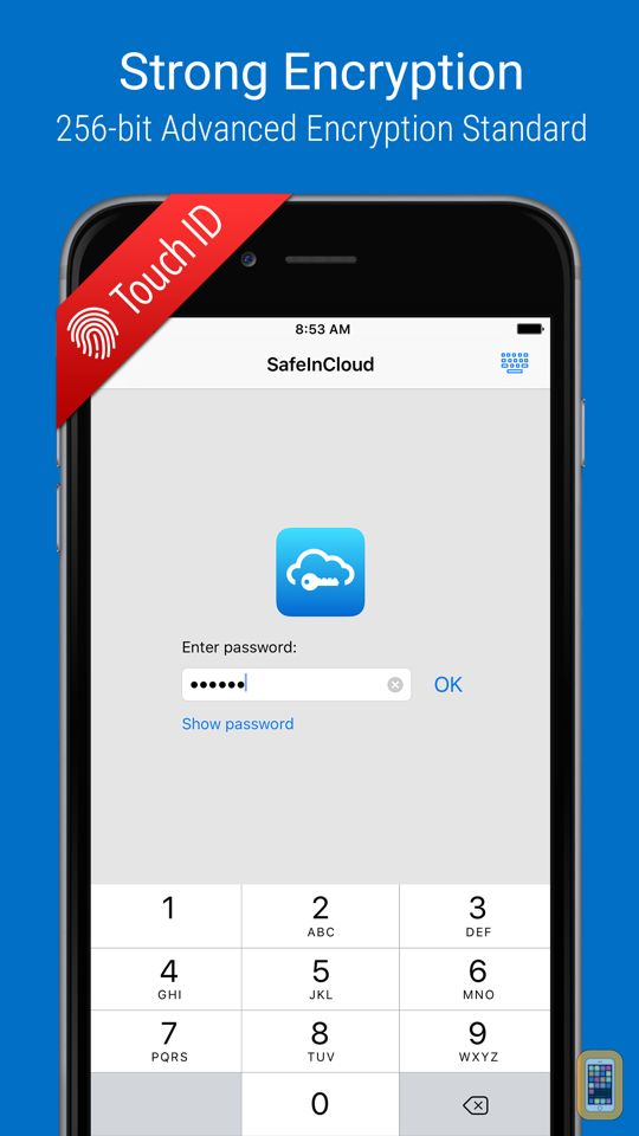 Screenshot - SafeInCloud Pro