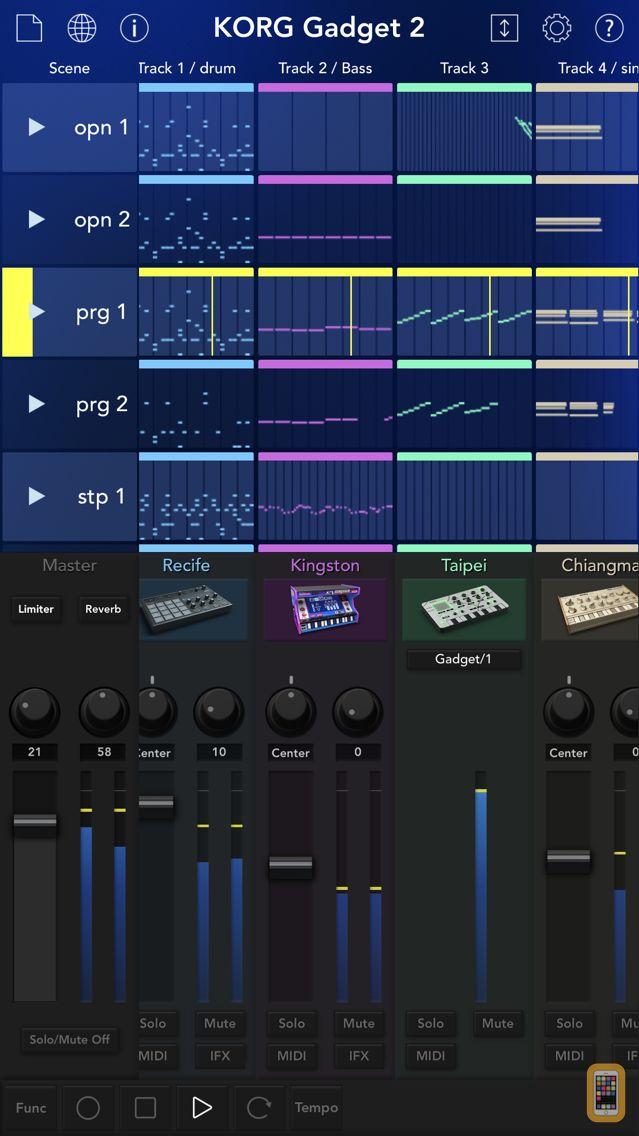 Screenshot - KORG Gadget 2