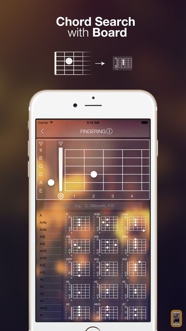 Screenshot - Guitar Kit+ for Chord Search, Save and Training