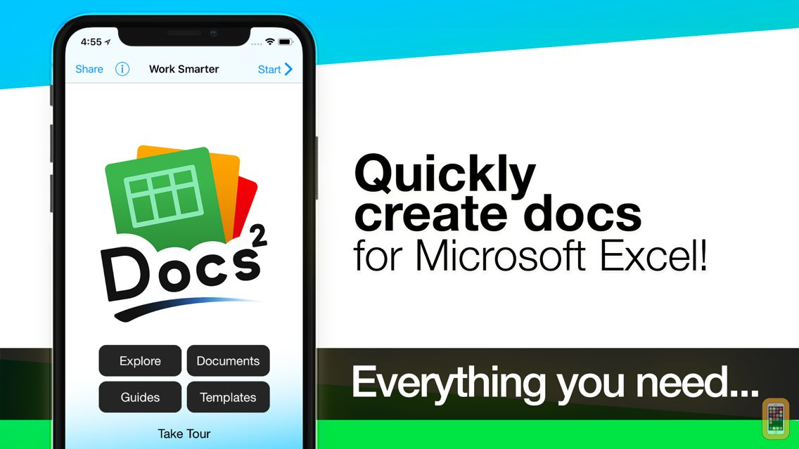 Screenshot - Docs² | for Microsoft Excel