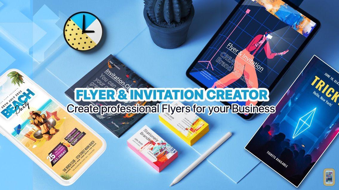 Screenshot - Flyer & Invitation Creator