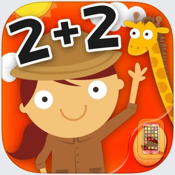 Animal Math Games for Kids in Pre-K, Kindergarten and 1st Grade Learning Numbers, Counting, Addition and Subtraction Premium by Eggroll Games LLC (Universal)