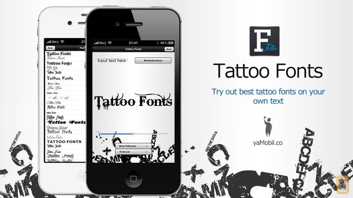 Screenshot - Tattoo Fonts - design your text tattoo