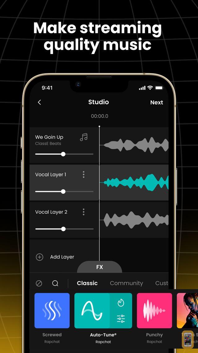 Screenshot - Rapchat: Music Video Studio