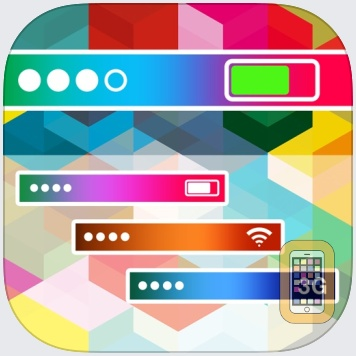 Pimp My Status Bar for iOS 8 by NestedApps Limited (Universal)