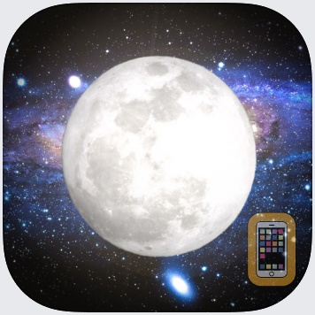 Solar Moon - Phase Calendar & Sun Info Tracker by Christopher Collins (iPhone)