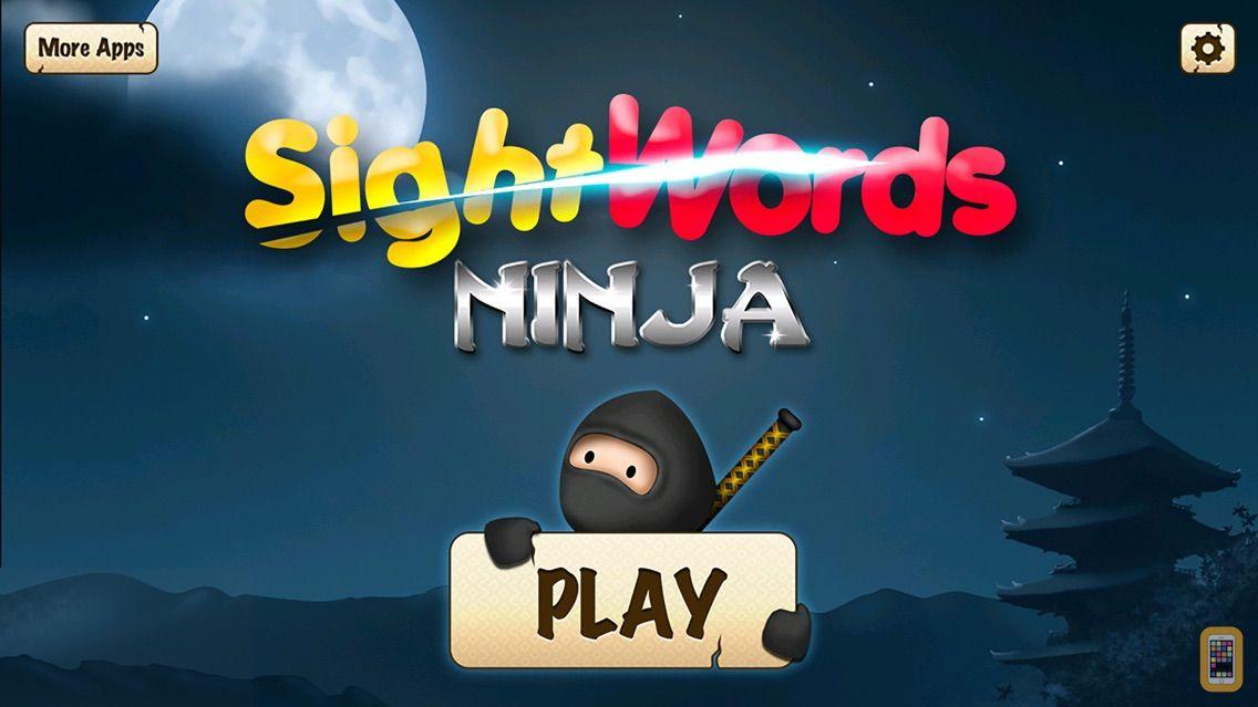 Screenshot - Sight Words Ninja - Slicing Game to Learn to Read