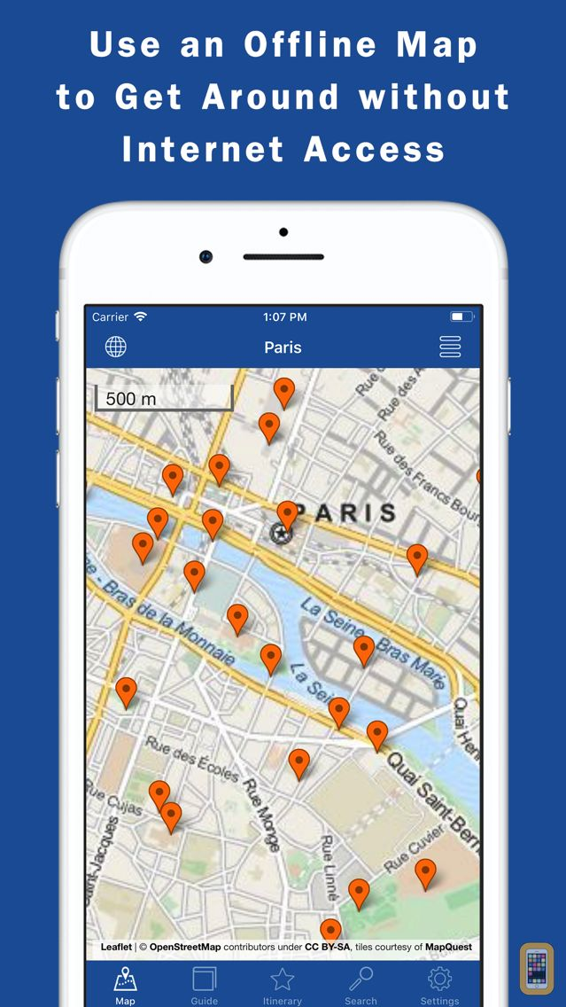 Screenshot - World City Guides & Maps