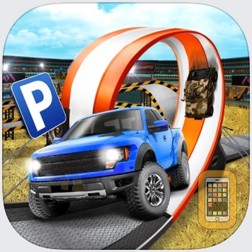 Monster Truck Parking Simulator Game - Real Car Driving Test Sim Racing Games by Aidem Media (Universal)