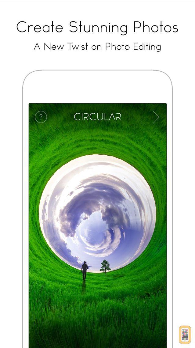 Screenshot - Circular Tiny Planet Editor