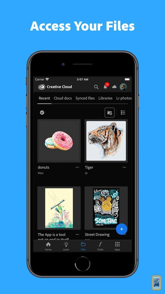 Screenshot - Adobe Creative Cloud