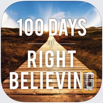100 Days of Right Believing by Hachette Book Group, Inc. (iPhone)