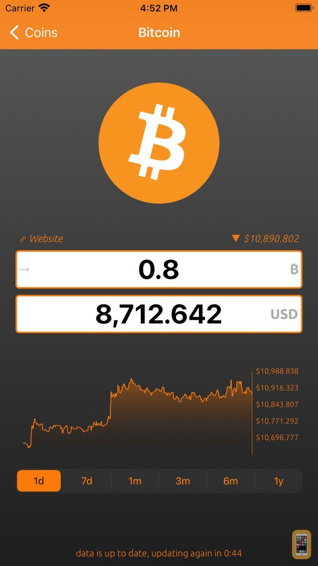 Screenshot - Bitcoin Convert