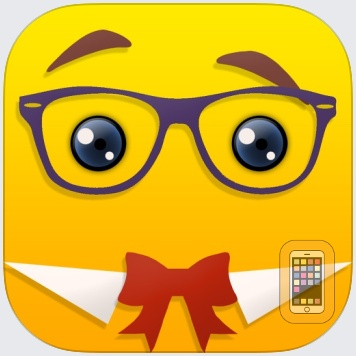 Emoji Maker - Create Custom Smiley Faces And Share With Friends via Text-Messages & Social Emoticon Networks by Oliver Saylor (iPhone)