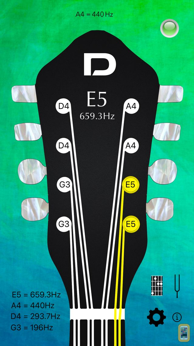 Screenshot - Mandolin Tuner Pro and Chords