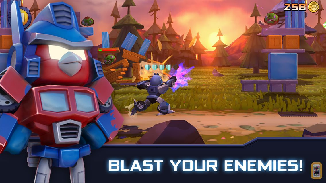 Screenshot - Angry Birds Transformers