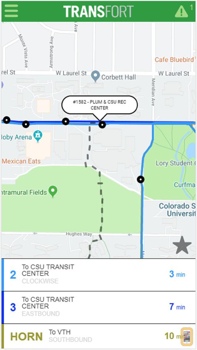 Screenshot - Ride Transfort