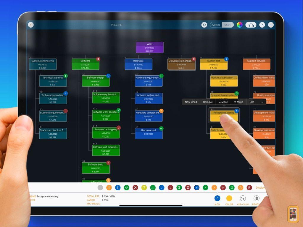 Screenshot - WBS - Project Work Management