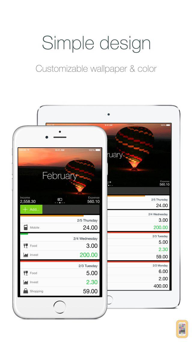 Screenshot - Money - Track easily