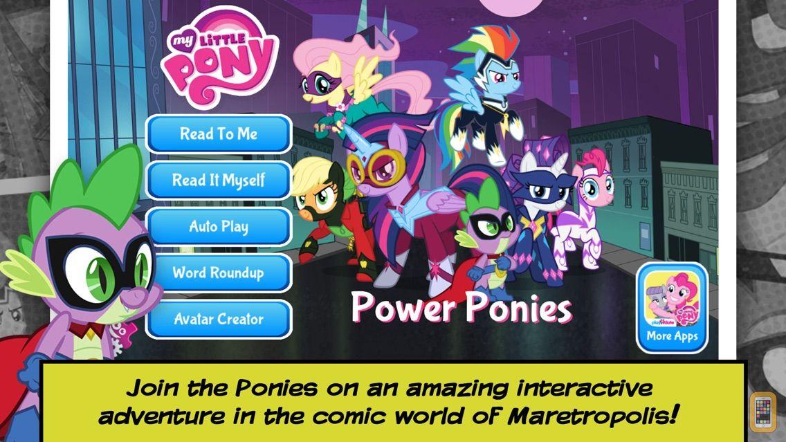 Screenshot - My Little Pony: Power Ponies