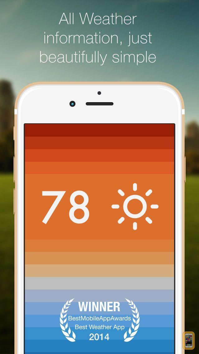 Screenshot - Clima - Beautifully simple