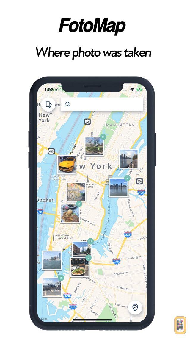 Screenshot - FotoMap-where photo was taken