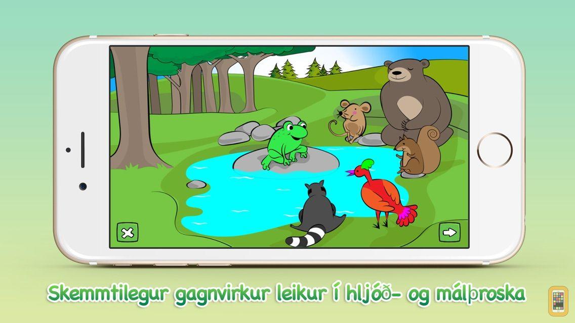Screenshot - Froskaleikur 1 - Listin að lesa