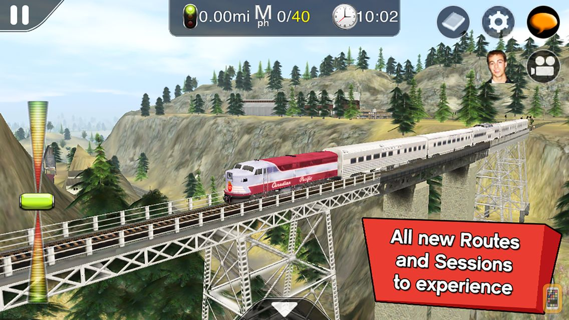 Screenshot - Trainz Driver 2 - train driving game, realistic 3D railroad simulator plus world builder