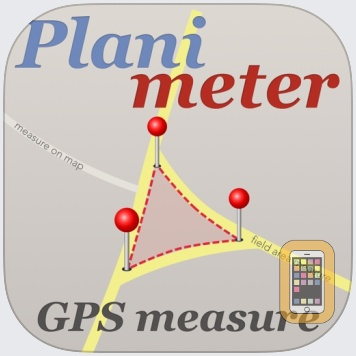 Planimeter - GPS area measure by VisTech.Projects LLC (Universal)