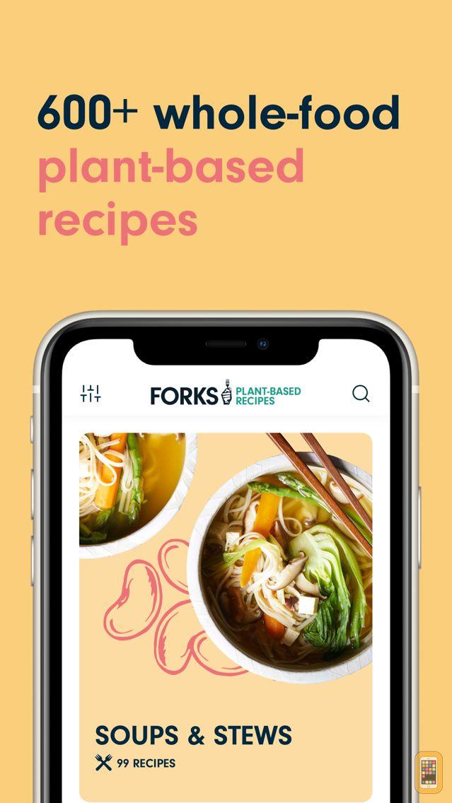 Screenshot - Forks Over Knives (Recipes)