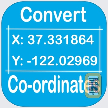 Coordinate Converter DD DMS for iPhone & iPad - App Info & Stats