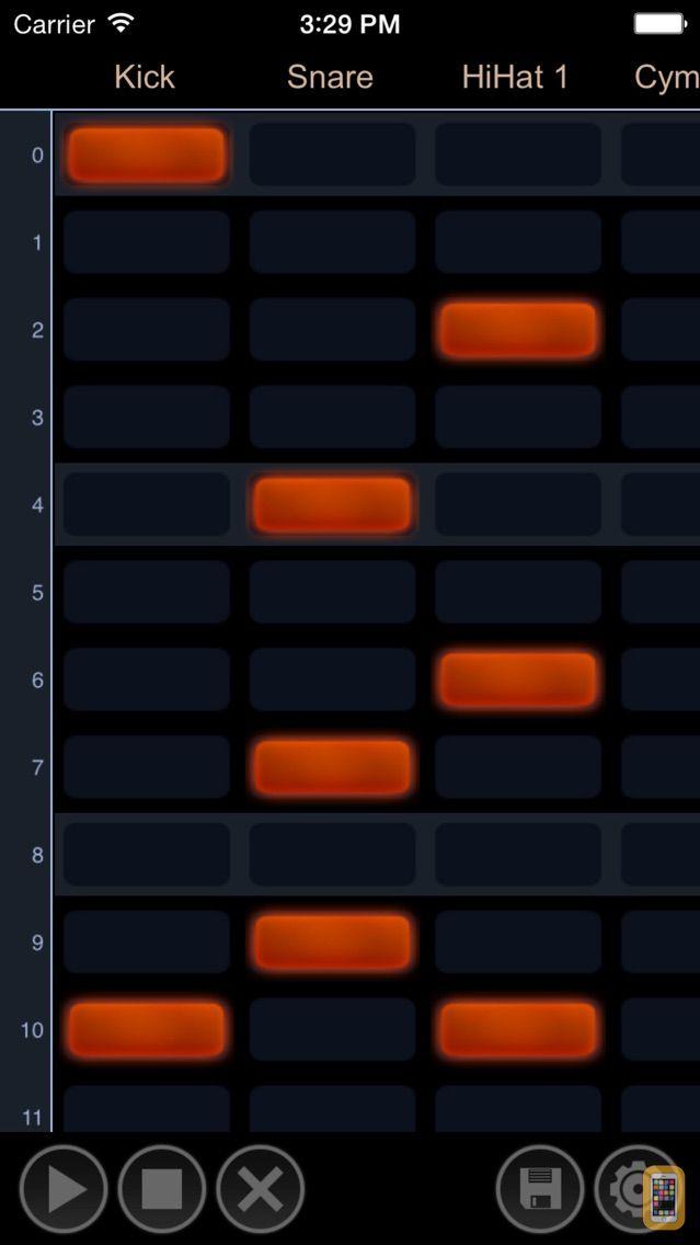 Screenshot - Drum Tracker
