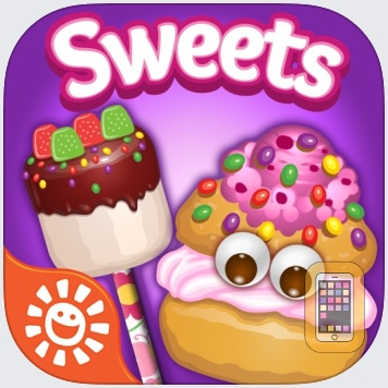 Sweet Treats Maker Game - Make, Decorate & Eat Yummy Chocolate, Candy & Dessert Food Free Chef Games by Sunstorm Interactive (Universal)