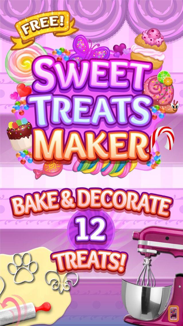 Screenshot - Sweet Treats Maker Game - Make, Decorate & Eat Yummy Chocolate, Candy & Dessert Food Free Chef Games