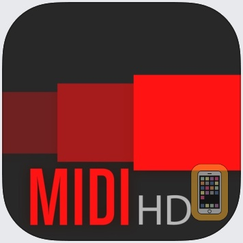 Fingertip MIDI HD - Virtual piano controller for PRO beat studio and music production. by Fingertip Music Technology Inc (iPad)