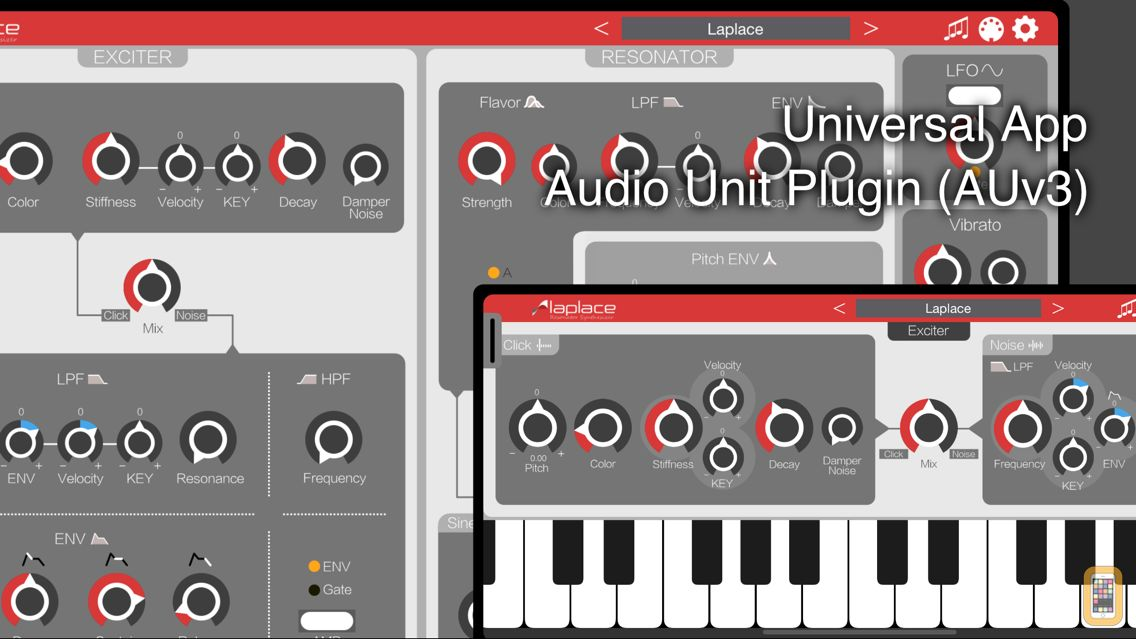 Screenshot - Laplace Synthesizer